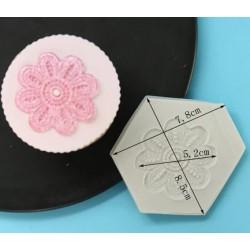 dentelle fleur - Ø 5.2cm