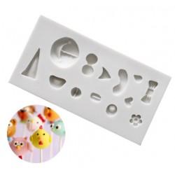 small animals face design mold - Thilo