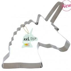 XXL inox cutter mold Unicorn ScrapCooking - 29 X 26 cm