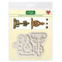 hinges & screws mould - Katy Sue