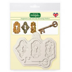 locks & key mould - Katy Sue