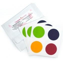PYO palette de peinture originale - rose, vert, jaune et bleu - 12 pièces - Cookie Countess