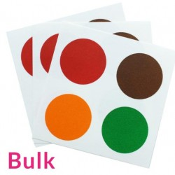 PYO  paint palettes Christmas - red, green, brown and yellow - 12 pieces - Cookie Countess