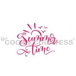 stencil heure d'été - Cookie Countess