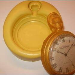 "pocket watch mold 2 3/4"" (7 cm) - SimiCakes"
