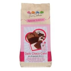 black choco cake mix 400g - Funcakes