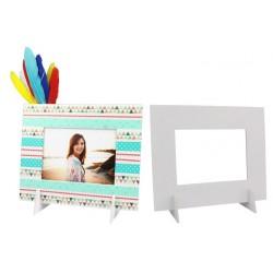 cadre photo en carton mousse - 21 x 17 cm