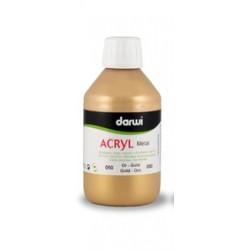 peinture acrylique Acryl Métal or 80 ml