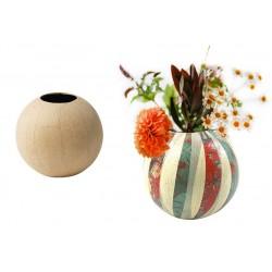 vase en papier mâché Ø11 cm x 10.5 cm