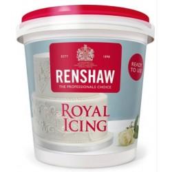 Glaçage royal blanc 400g saveur vanille - Renshaw - prêt à l'emploi