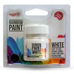 Rainbow Paint It  White / peinture alimentaire blanche 25ml