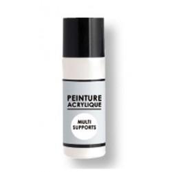 peinture acrylique multi-supports 80 ml - blanc