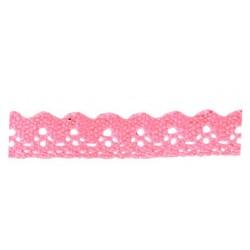 pink self-adhesive cotton lace ribbon