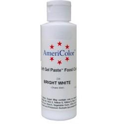 "Americolor concentrated edible coloring color ""bright white"" 6oz"