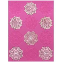 Alexandra - 3D lace mat - Claire Bowman