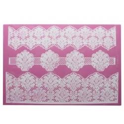 Damask - 3D lace mat - Claire Bowman