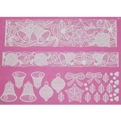 Bells & Bows - lace mat - Claire Bowman