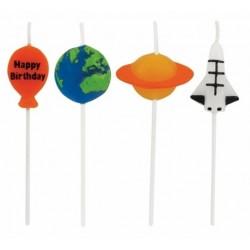 Planète solaire - bougies x 4 - Anniversary House