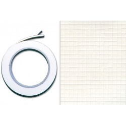 double-sided adhesive foam tape 1.2 cm x 2 meters - Thickness: 2 mm