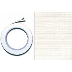 ruban mousse adhésive double-face 1,2 cm x 2 mètres - Epaisseur : 2 mm