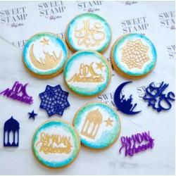 """embosseur """"Ramadan Elements"""" / éléments sur Ramadan - Sweet Stamp Amycakes"""