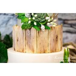 Rustic driftwood mould - Karen Davies
