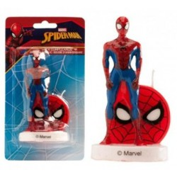 candle spiderman - 9.50 cm