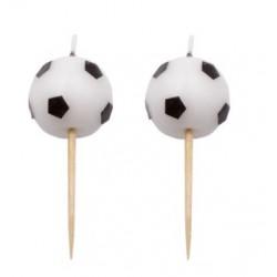 Football - bougies x 6