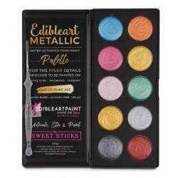 Palette de couleurs à utiliser avec l'eau - Edible Art