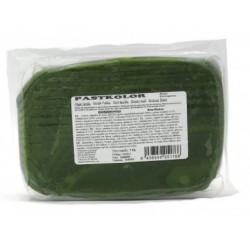 PROMO - Pâte à sucre vert feuille - 1kg - Pastkolor