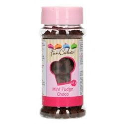 mini pastilles caramel - choco - 65g - Funcakes