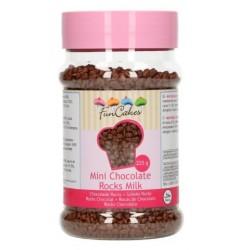 mini rochers en chocolat - lait - 225g - Funcakes