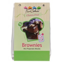 mix gluten free for Brownies 500g - Funcakes