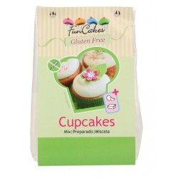 mix gluten free for cupcakes 500g - Funcakes