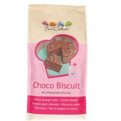 Préparation mix pour génoise chocolat 1kg - Funcakes
