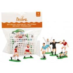 9 Decorative football accessories for cake Decora
