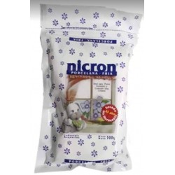 Natural cold porcelain - white - 500g - Nicron