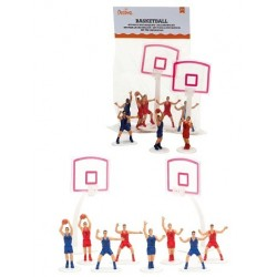 10 Decorative basketball accessories for cake - Decora