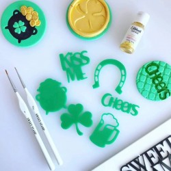 "embosseur ""Irish Elements"" / éléments Irlande - Sweet Stamp Amycakes"