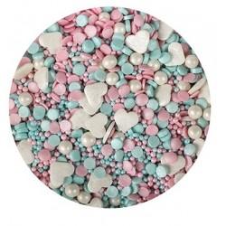 "mixe de perles comestibles ""licorne"" 100g - Purple Cupcakes"