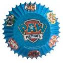 cupcakecups paper - Paw Patrol - 50pcs - 7 x 3 cm - Dekora