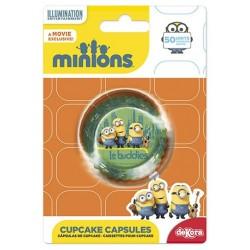 cupcakecups paper - Minions - 50pcs - 7 x 3 cm - Dekora