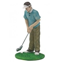 Figurine en résine - golfeur - Culpitt