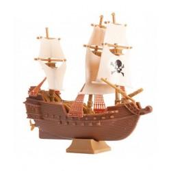 Figurine en plastique - bateau de pirate - Doric