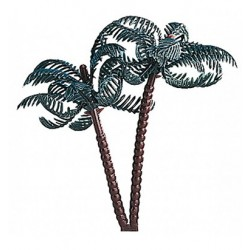 plastic topper - palm tree - Doric