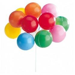 plastic topper - balloons - Doric