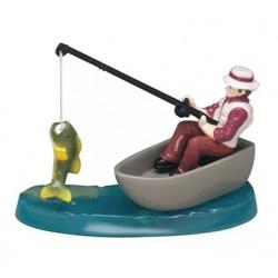 Figurine en résine - pêcheur - Culpitt