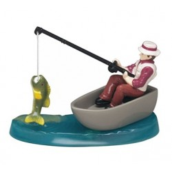 resin figurine - fisherman - Culpitt