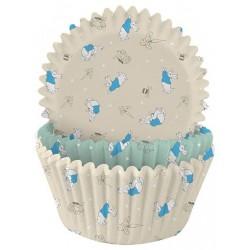 caissettes à cupcake  papier - pierre lapin - 75pcs - 4.8 x 3 cm - Anniversary House