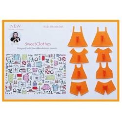 """set de """"pattern""""/ modèles de vêtements pour enfant - SweetRevolutions by Domy"""